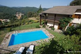 Descanso con aire fresco y vistas al Montseny