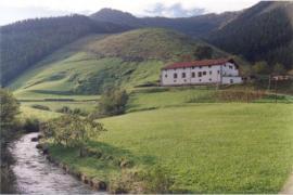 Caserío Lazkao-Etxea casa rural en Zaldibia (Guipuzcoa)