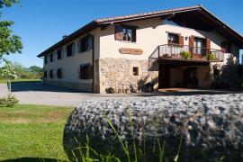 Erretegi Haundi casa rural en Oiartzun (Guipuzcoa)