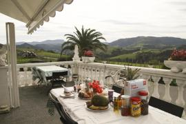 Agroturismo Pagoederraga casa rural en Aia (Guipuzcoa)
