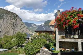Casa La Rosa casa rural en Saravillo (Huesca)