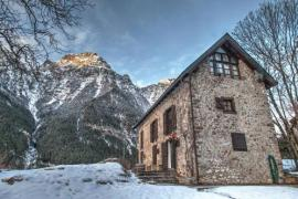 Casas de Zapatierno casa rural en Bielsa (Huesca)