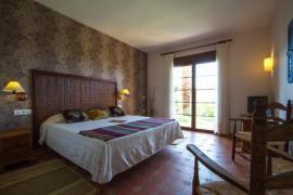 Hotel Cortijo de Salia casa rural en Alcaucin (Málaga)