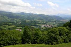 Behin Batean casa rural en Ziga (Navarra)