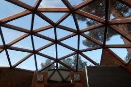 Iglús con techo de cristal para ver estrellas
