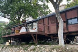 Vagón Orient Express casa rural en Casas Altas (Valencia)