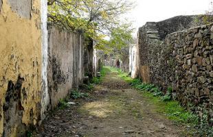 Granadilla, el pueblo abandonado de Cáceres