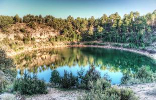 Lagunas de Cañada del Hoyo, un paisaje único en España