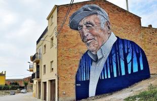 Penelles, el pueblo de los graffitis