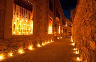Noche de las Velas en Pedraza 2018