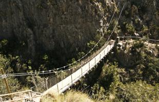 Ruta por los puentes de Chulilla