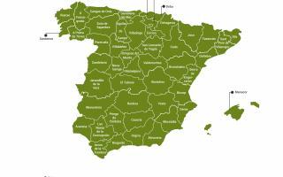 50 capitales de turismo rural en España