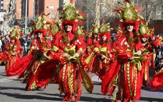 Cinco carnavales del interior de España