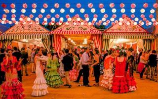 Vive la Feria de Abril fuera de Sevilla