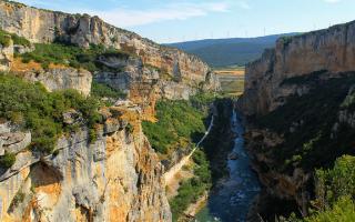 Foz de Lumbier y Arbayún, paisaje único en España