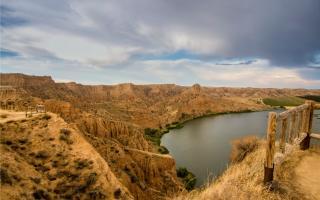 El impresionante paisaje de las Barrancas de Burujón en Toledo