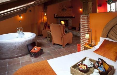Casas rurales con jacuzzi en la habitación