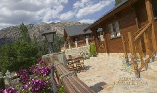 Mirador la maliciosa casa rural en manzanares el real - Casa rural manzanares ...