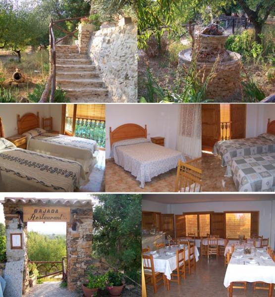 Casa barranc del minyo casa rural en vall d alba - Chimeneas en castellon ...