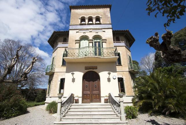 Mayo en el Montseny en una villa preciosa