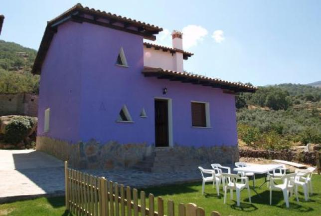 Casas 2-9 pers chimenea barbacoa 18€/ pers