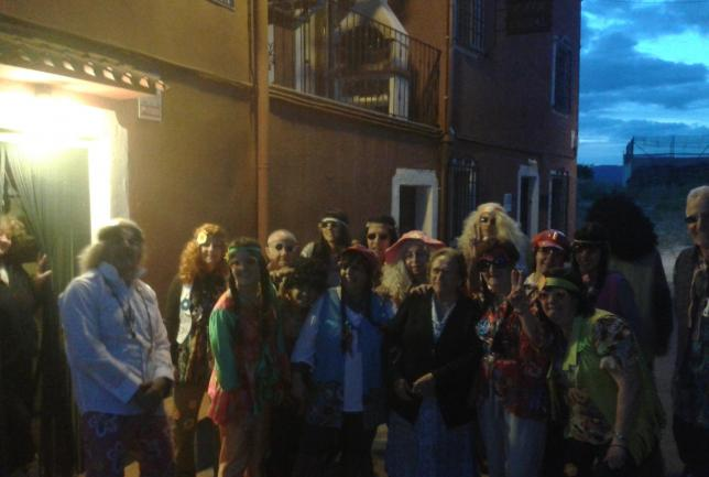 Cena/Barbacoa, Fiesta de Carnaval con Mojito...