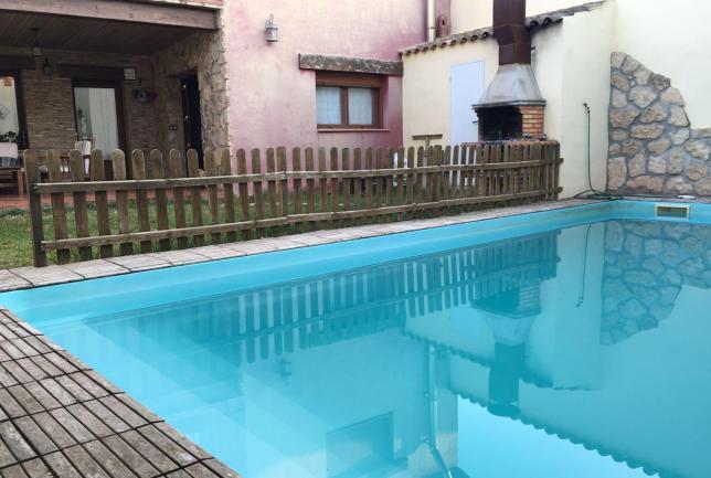 casa completa con piscina privada clubrural