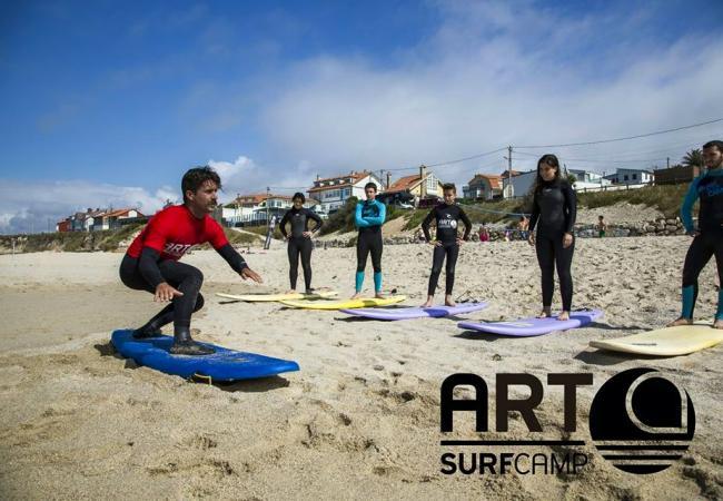 art surf camp razo | a coruña - carballo - clubrural