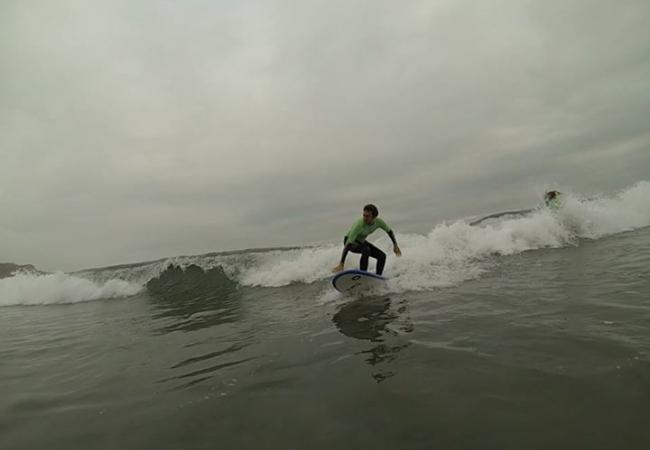 escuela de surf longbeach   asturias - salinas - clubrural