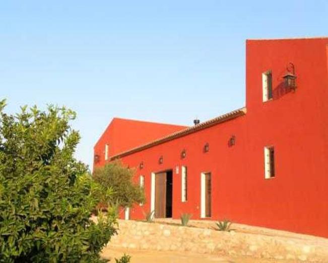 Casas rurales ventaseca casa rural en mazarron murcia for Casa jardin murcia