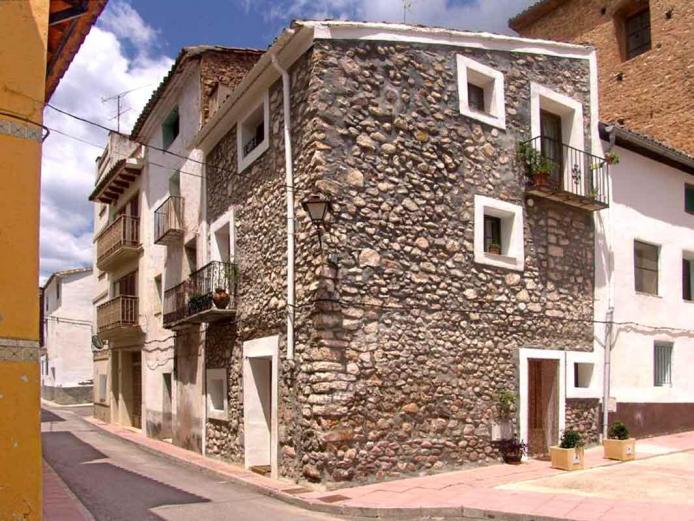 Casa mayor casa rural en ayodar castell n clubrural - Casa rural castellon jacuzzi ...