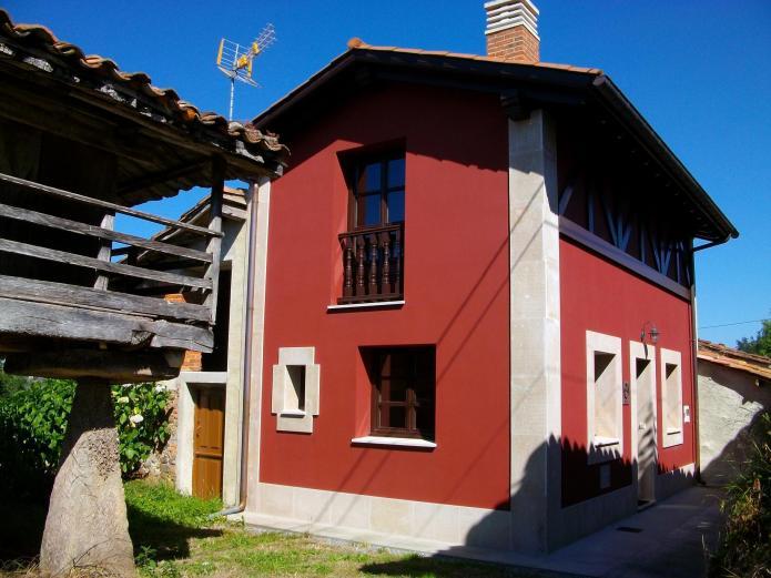 Esperteyu roxu casa rural en cabranes santa eulalia - Chimeneas santaeulalia ...