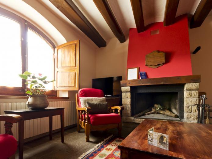 El mas de castelltallat casa rural en sant mateu de bages barcelona clubrural - Casa rural bages ...