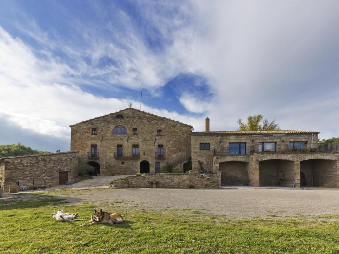Les corts de biosca casa rural en sant mateu de bages barcelona clubrural - Casa rural bages ...