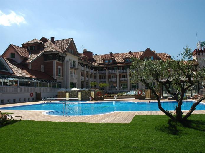 Gran hotel puente viesgo hotel en puente viesgo cantabria clubrural - Casa rural puente viesgo ...