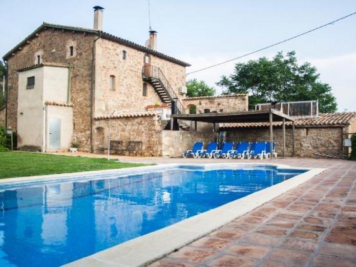 Cal bernoi casa rural en clariana de cardener lleida clubrural - Casas rurales lleida piscina ...
