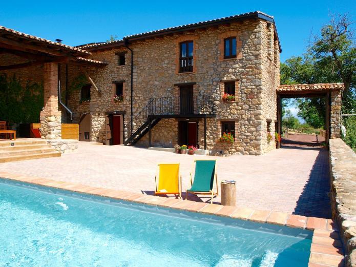 Cal pesolet casa rural en bellver de cerdanya lleida clubrural - Casas rurales lleida piscina ...
