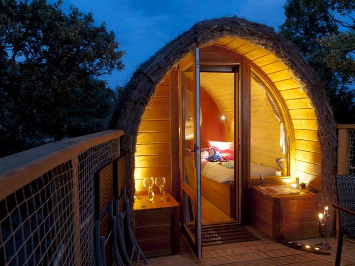 Camping Bungalows Monte Holiday Bungalow En Gargantilla Del Lozoya Madrid Clubrural