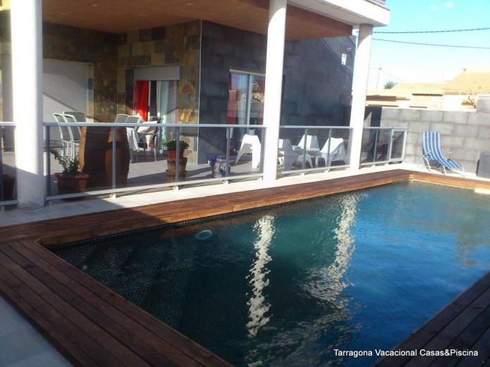 Villa minerva vivienda vacacional en sant jaume dels for Casas rurales alicante con piscina