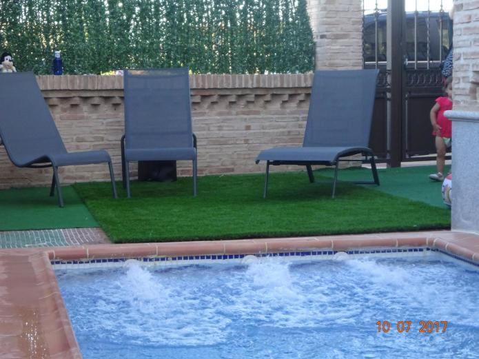 Casa rural la higuera i casa rural en pulgar toledo clubrural - Casa rural toledo piscina ...