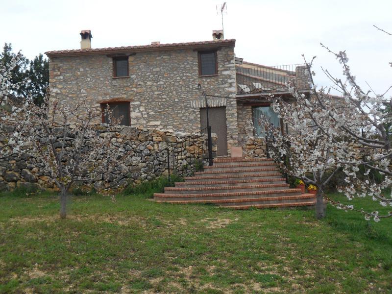 La toscana casa rural en les coves de vinroma castell n for La casa toscana tradizionale