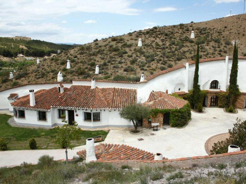 Cuevas t o tobas casa rural en alcudia de guadix granada clubrural - Casa rural guadix granada ...