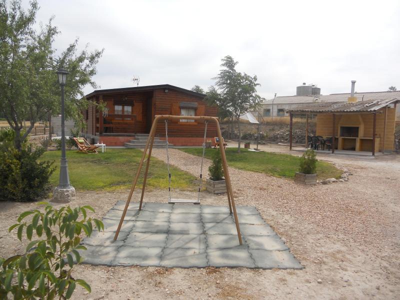 La casita de madera apartamento rural en sacramenia - La casita de madera ...