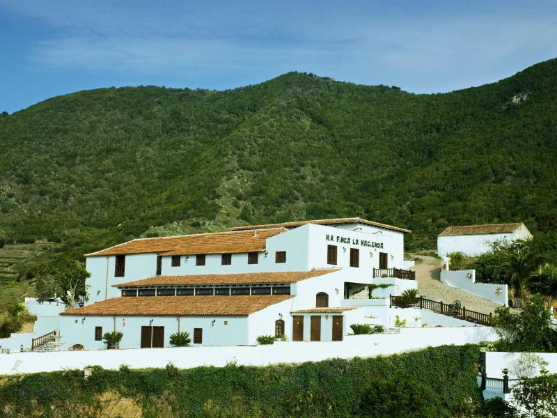 Hotel rural finca la hacienda hotel rural en los silos tenerife clubrural - Alquiler casa vacaciones tenerife ...