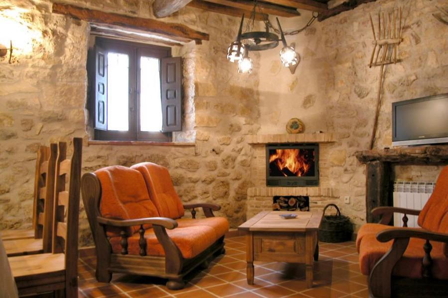 Las casas del durat n hotel en sepulveda segovia clubrural - Casa rural sepulveda ...