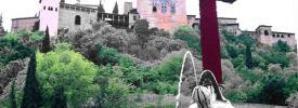Las cruces de Mayo en Granada