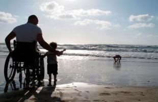 Playas adaptadas a minusválidos en Cataluña