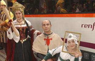 Sigüenza y Madrid unidas por el Tren Medieval