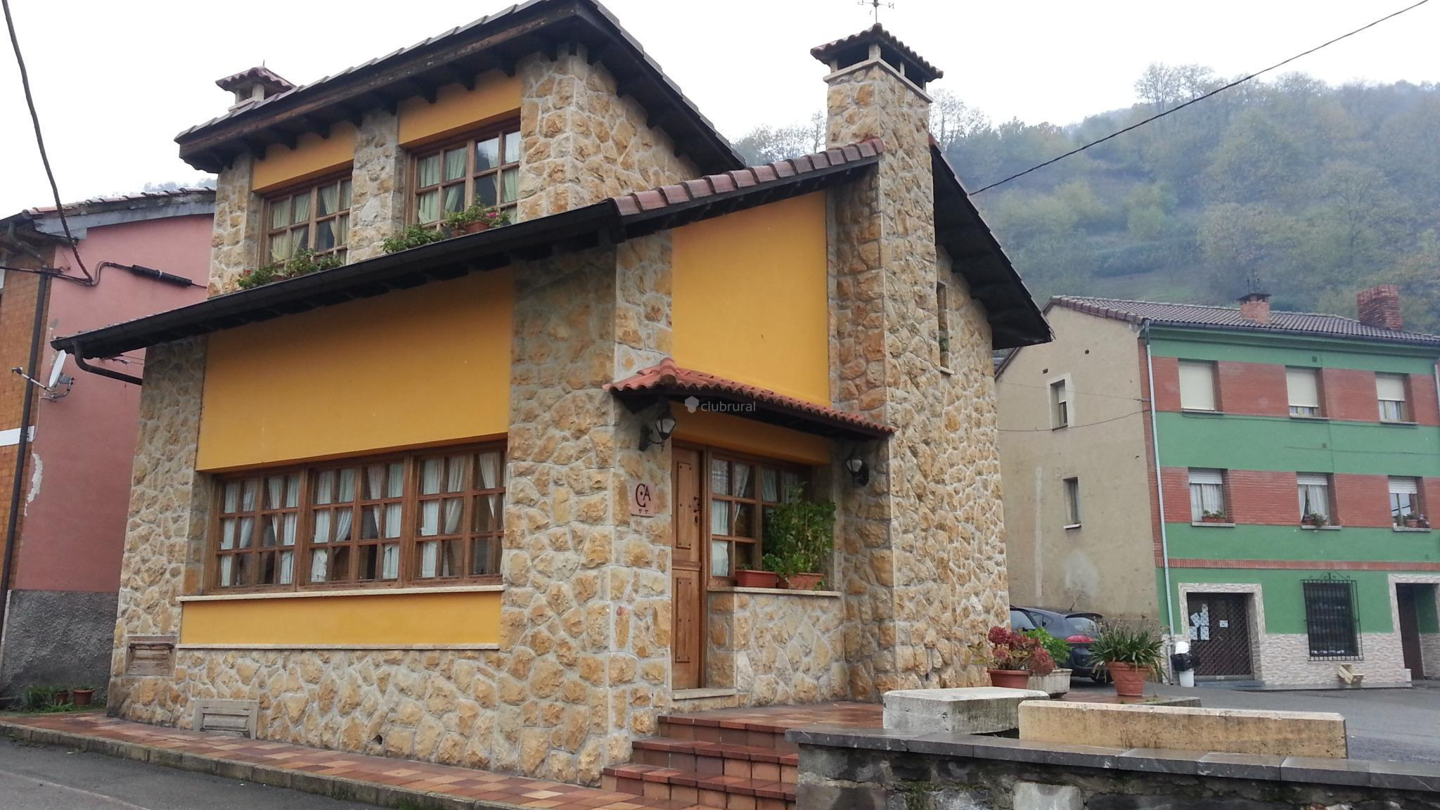 Fotos de el corralon asturias aller clubrural for Casa rural con chimenea asturias