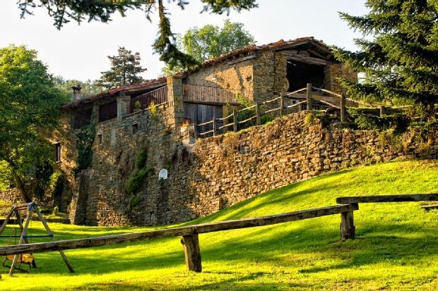 Fotos de la cabanya del vilar barcelona rupit i pruit clubrural - Casa rural o vilar ...